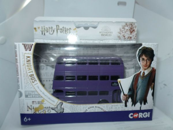 CORGI CC99726 1/76 OO Scale Harry Potter Triple Decker Knight Bus AEC RT